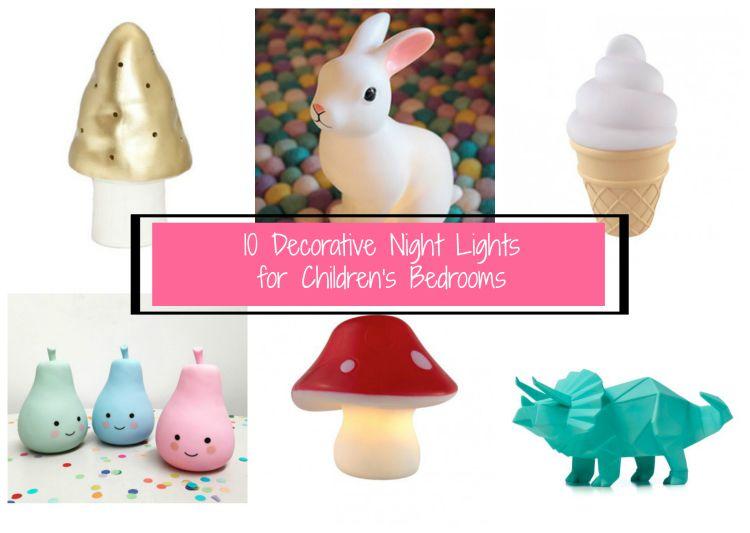 Go Ask Mum 10 Decorative Night Lights For Children 39 S