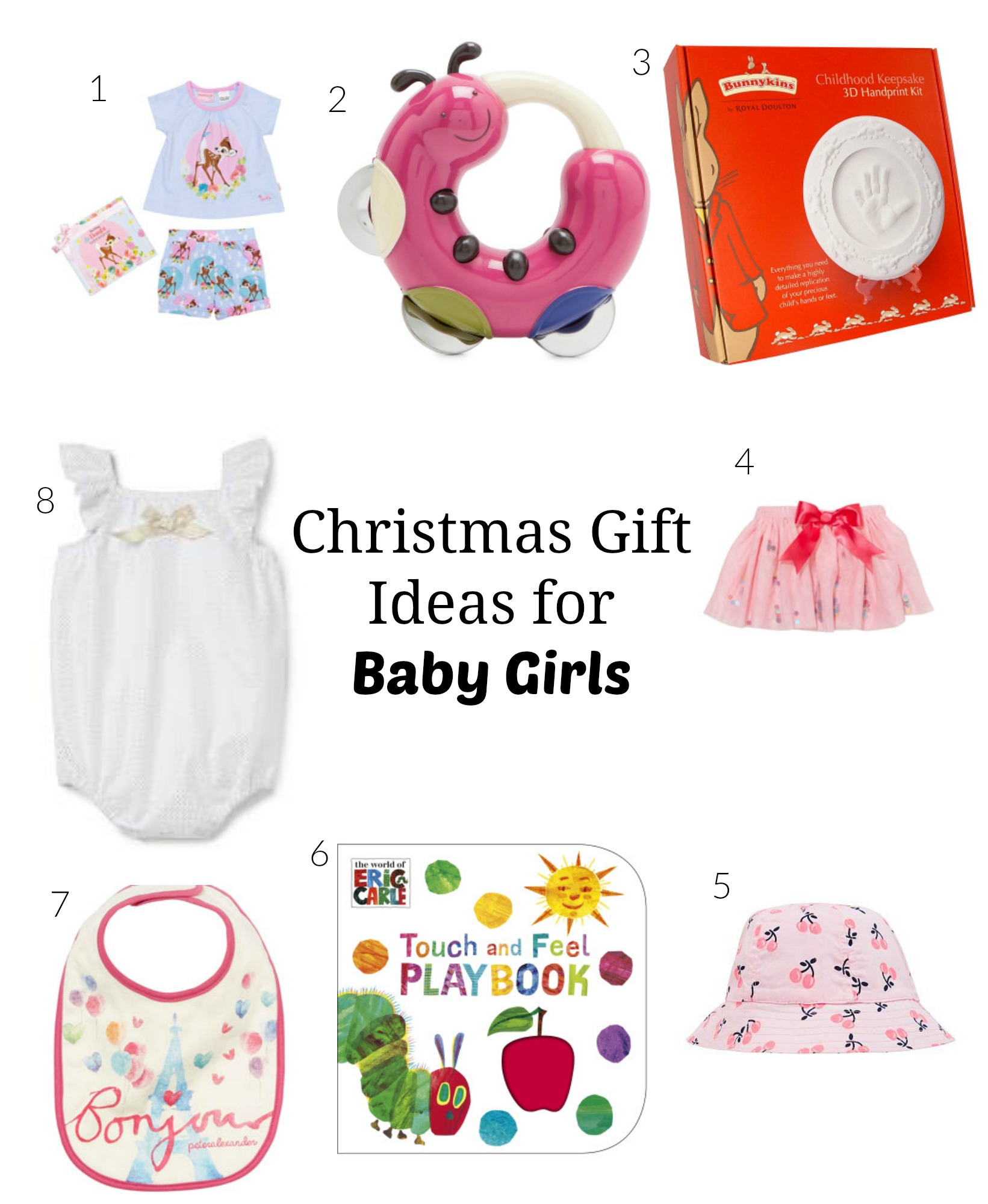 Baby Boy Gifts For Christmas : Go ask mum christmas gifts for baby girls under
