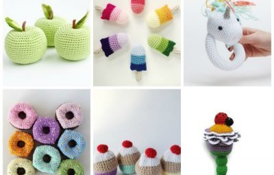 sweetest crochet rattles