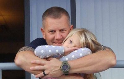 firefighter adopts baby