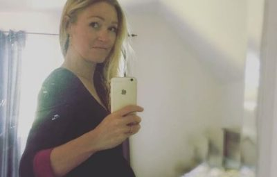Julia Stiles Announces Pregnancy on Instagram with a Photo of Her Belly